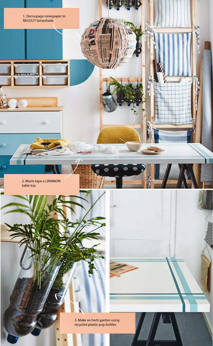 10 diy ideas from the 2015 ikea catalogue poppytalk - Ideas cocina ikea ...