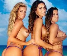As Belas da Praia Playboy Brasil Janeiro 2014