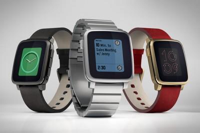 Smartwatch Pebble Varian Logam Siap Meluncur