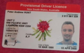 Australian Types Dagorwomen Driving - License