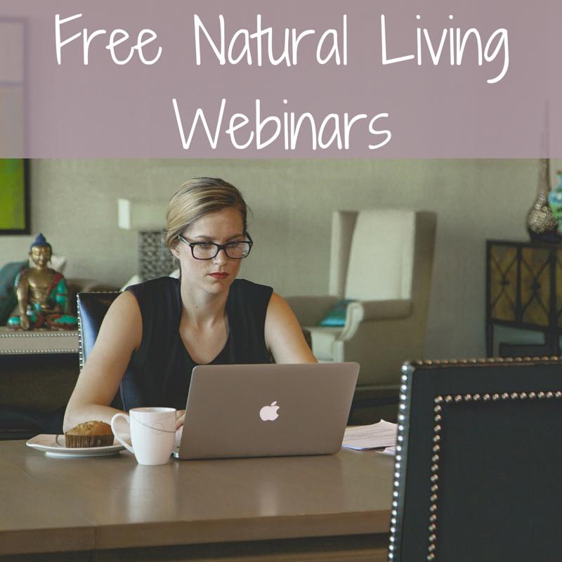 Natural Living Webinar