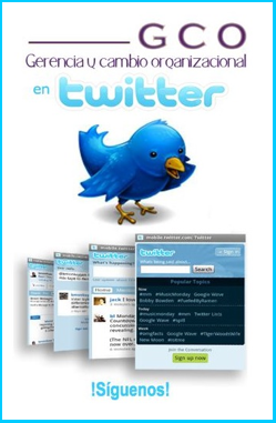 GCO en Twitter