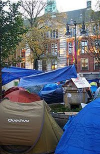 OCCUPY NETHERLANDS / Amsterdam
