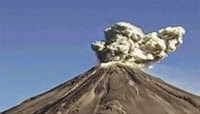 Eruptions From Mexico's Colima Volcano increases