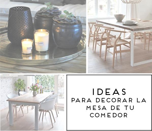 Lampara encima mesa comedor decorar tu casa es - Que poner encima de una mesa de comedor ...