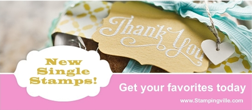Stampin' Up! offers new single stamps for purchase
