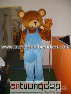may bán mascot gấu