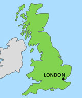 map of london in united kingdom uk pictures