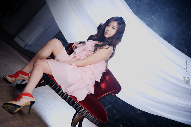 5 Kim Ha Yul in Pink-very cute asian girl-girlcute4u.blogspot.com