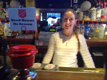 Salvation Army Bar Kettle at the Pearl Street Pub