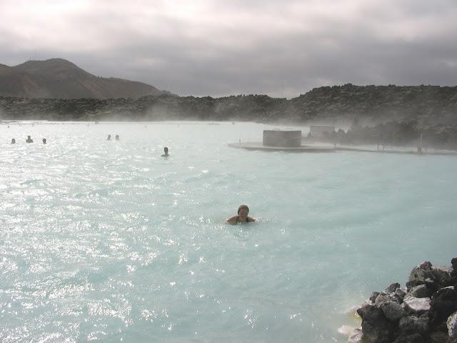 Bláa lónið (Blue Lagoon) near Grindavík.