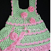 Gorgeous gorgeous. Crochet dress for girl. I loved. Graphic. shared