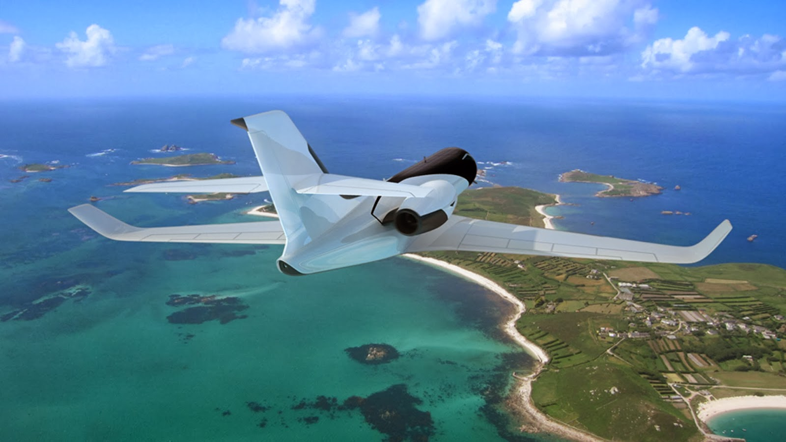 windowless supersonic jet parallax barrier technology outside view