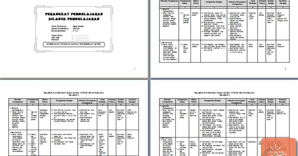Perangkat Pembelajaran Bahasa Sunda Kelas 1 2 3 4 5 6 Sd Mi Wiki Edukasi