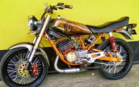 motor rx king modifikasi