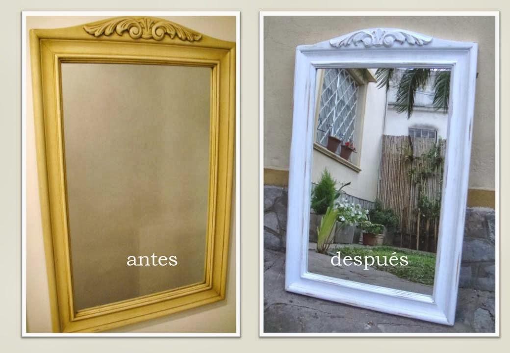 Renovation Decor: A pedido de cliente: Renovación de marco de espejo!