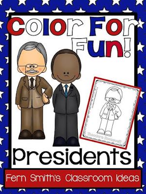 Presidents' Day ~ All Presidents