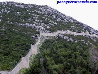 Visita a la muralla de Ston en Croacia