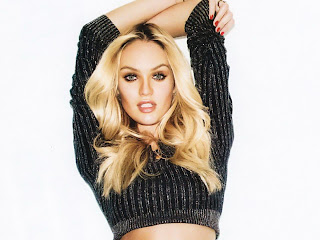 Candice Swanepoel sexy in GQ 2012 February