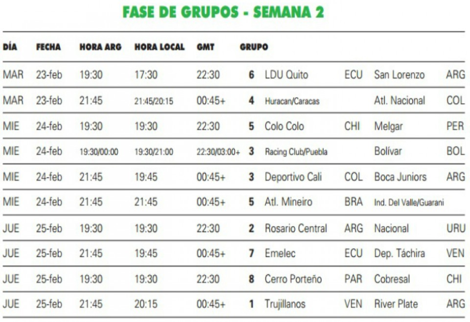 Calendario Futbol Argentino 2016 | Calendar Template 2016