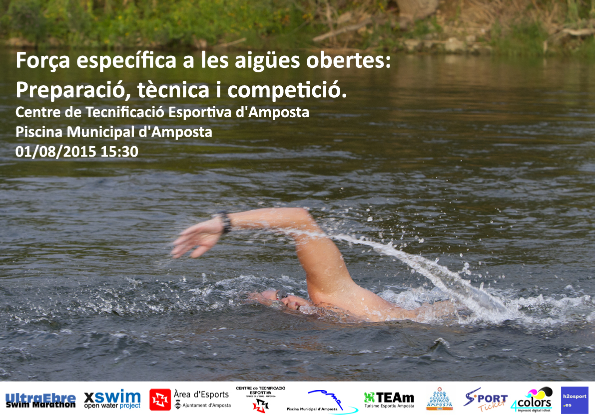 Ultraebre swim marathon nova formaci a amposta preparant for Piscina amposta