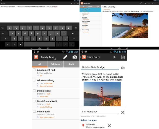 Download Aplikasi Blogger untuk Android APK
