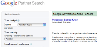 Mudassar Saeed Khan - Google adertising partner from Pakistan