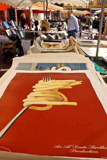 Enormous spaghetti poster
