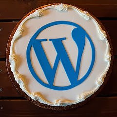 Wordpress Cake Logo