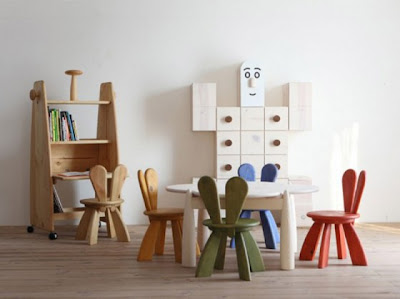 unique kids study room furniture