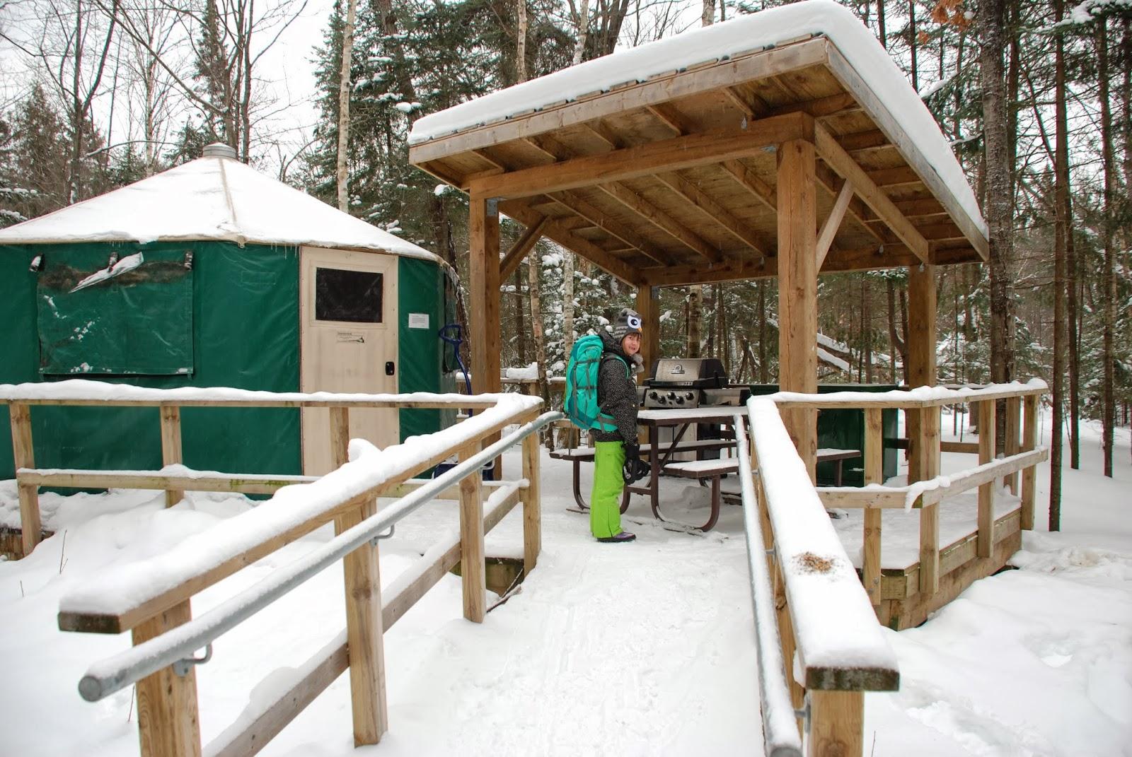 Killarney Provincial Park Yurt