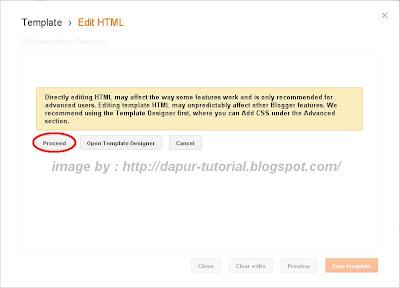 Cara Menampilkan Atau Menyembunyikan Widget Blog Pada Halaman Tertentu