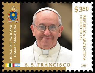Sello postal de S. S. Francisco de $3.50