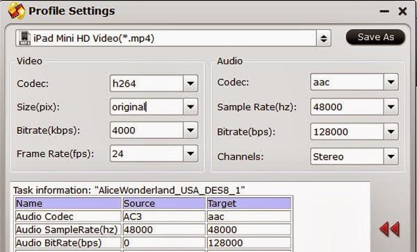 Видео Кодек H.264 Аудио Кодек Ac3