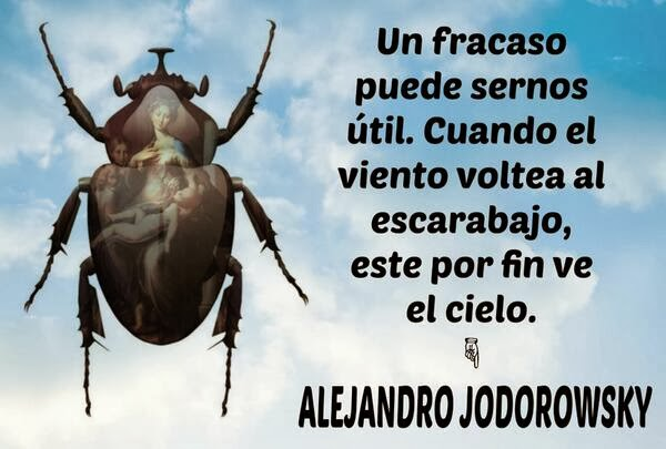 ¿A dónde vas, amigo, con tu secreto? los que se pelean se.... FRACASO+ALEJANDRO+JODOROWSKY