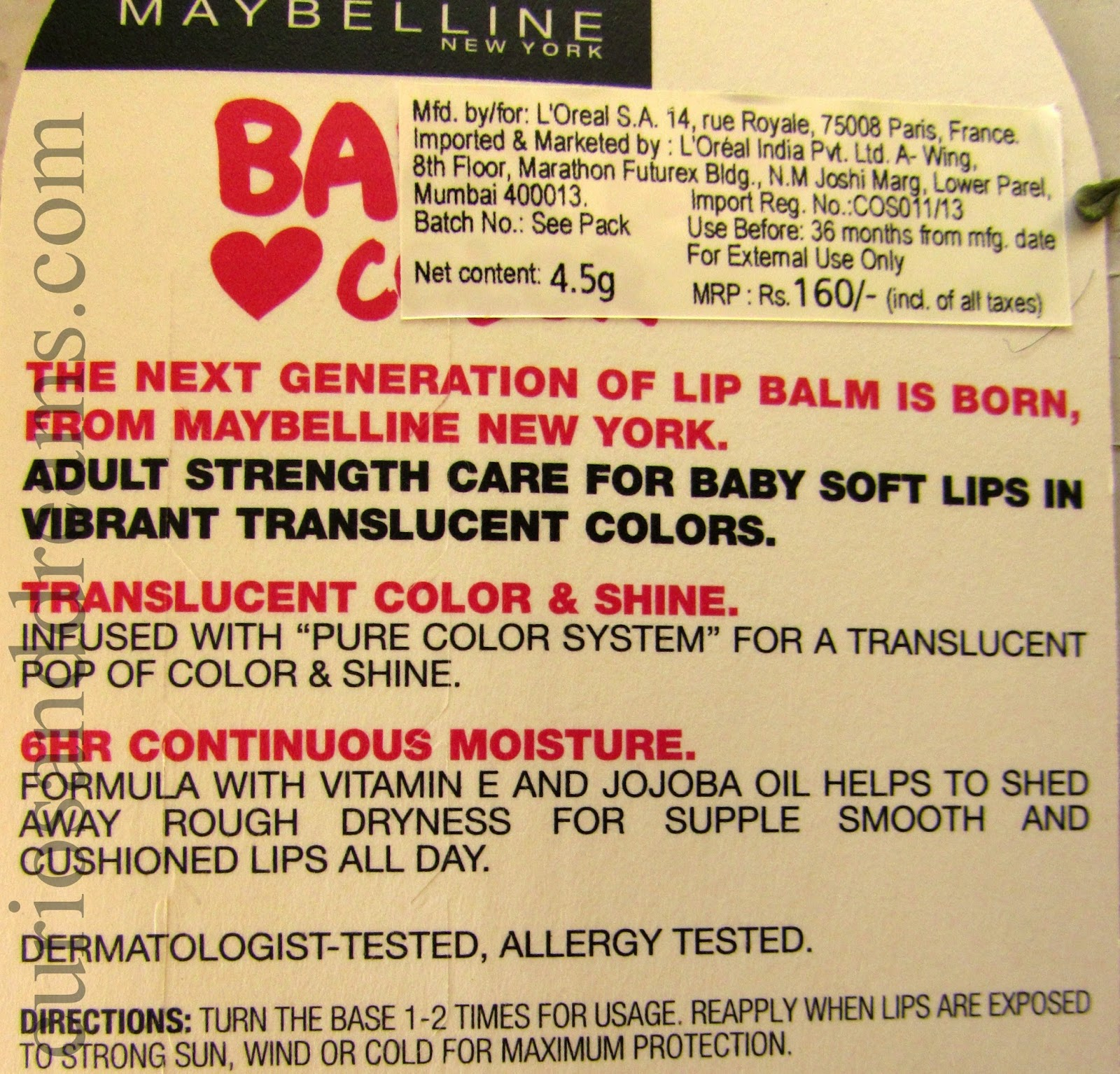 Maybelline Baby Lips Rose Addict, Maybelline Baby Lips Rose Addict review, Maybelline Baby Lips review