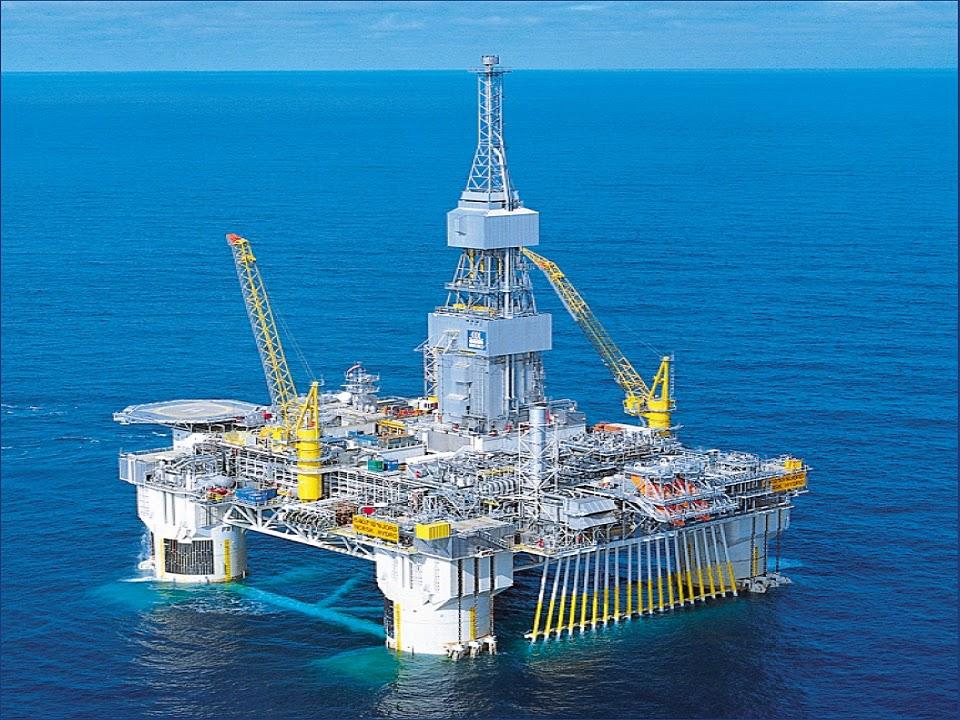 Fotos de plataformas petroliferas