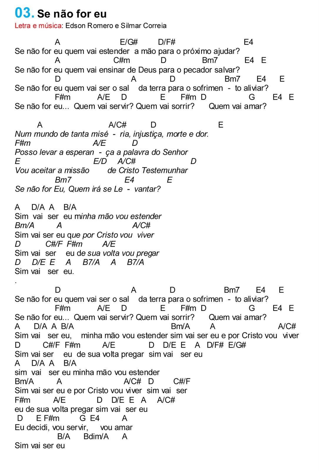 Famosos Violão Cristão: Músicas Cifradas GO99