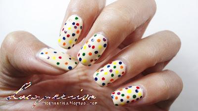 Lacqueerisa: Rainbow Dots