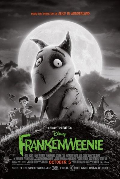 frankenweenie dvd portada