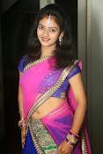 Young actress Jaya Harika in half saree-thumbnail-10