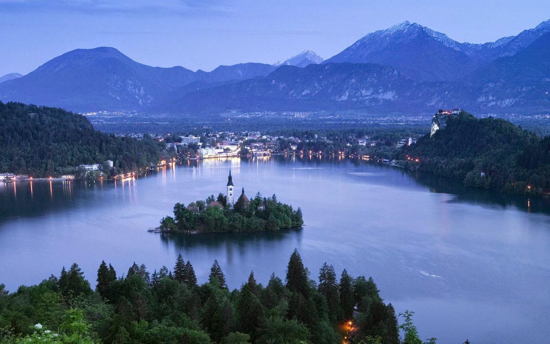 Ljubljana - bled lake