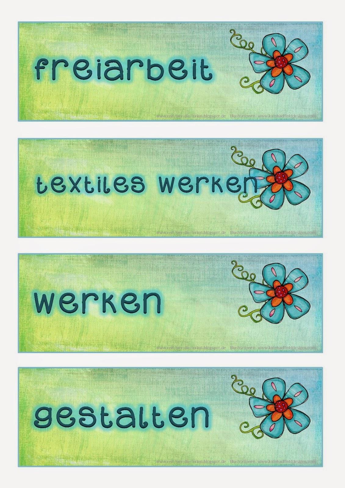 Etiketten-Wünsche