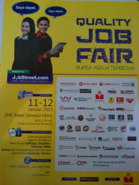 Job Fair | Bursa Kerja SME Tower