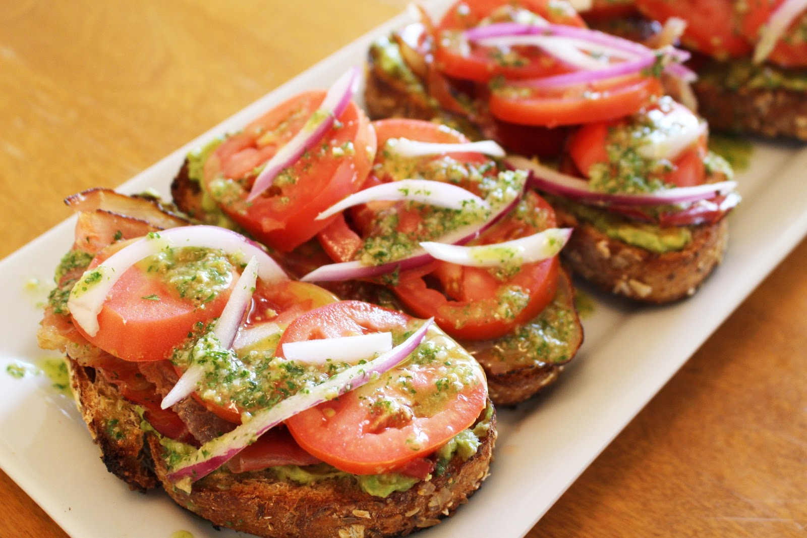 "SUGAR + SAGE: Open-Faced ""PAT"" Sandwiches"