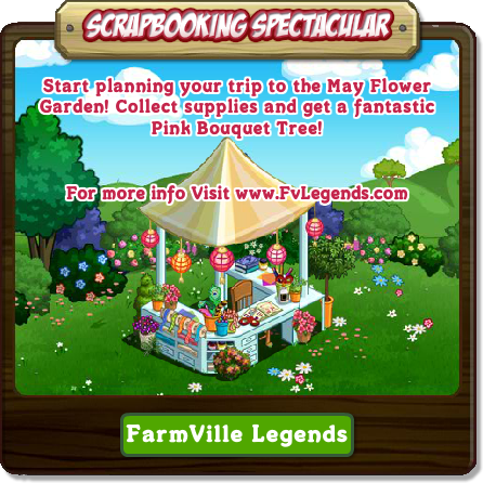 FarmVille Scrapbooking Spectacular Escapade Popup