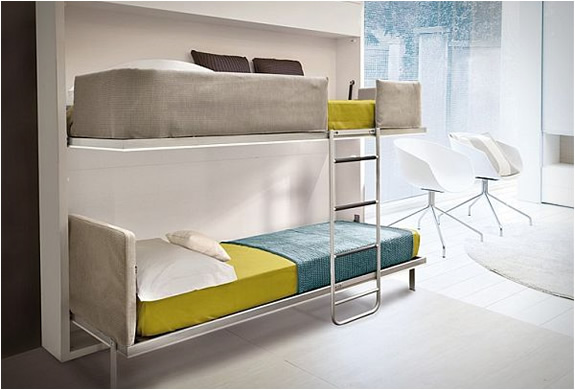 Pull Down Bunk Beds