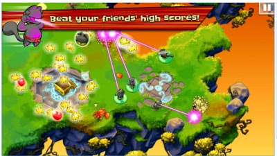 Game Action Strategi Offline Android Hero Cats MOD APK