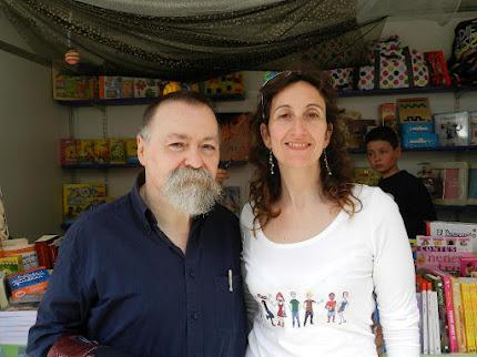 Pere Bessó i Rosa Sanmartín de l'editorial Alupa