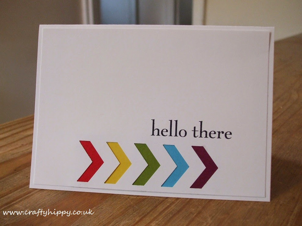Stampin' Up! Happy Day, Chevron Punch